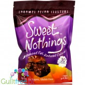 Healthsmart Sweet Nothings Candy, Caramel Pecan Clusters