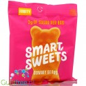 Smart Sweets, Gummy Bears, Fruity, sugar free and maltitol free