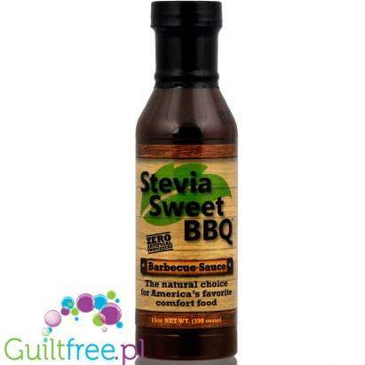 Stevia Sweet BBQ - Low Carb Barbecue Sauce