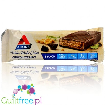 Atkins Wafer Crisps, Chocolate Mint
