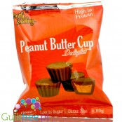 Purely Snacking Peanut Butter Cup Delights with orange filling
