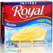 Royal, sugar free, reduced calorie vanilla pudding & pie filling
