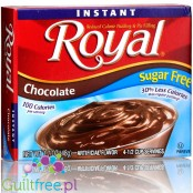 Royal, sugar free, reduced calorie chocolate pudding & pie filling