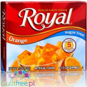 Royal Gelatin Orange Sugar Free