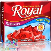 Royal Gelatin Raspberry Sugar Free 0.32oz
