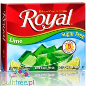 Royal Gelatin Lime Sugar Free