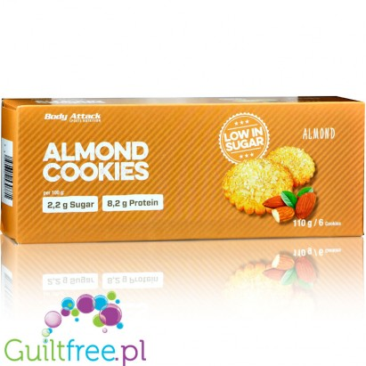 Body Attack Almond cookies sugar free