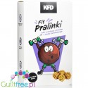 KFD fit pralines - protein balls with chocolate & nut filling