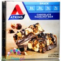 Atkins Snack Chocolate Hazelnut protein bar, boxof 5