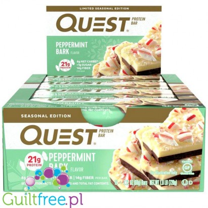 Quest Bar Peppermint Bark
