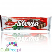 Bg Line chocolate covered wafer with stevia