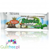 Bg Line chocolate bar with chia and sunflower seeds, sweetened stevia