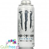 Monster MEGA Ultra Zero White Big Cans 24oz