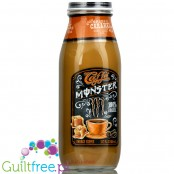 Monster Caffe Salted Caramel 13.7oz (CHEAT MEAL) - coffee energy drink with Hawaiian CoffeeBerry®