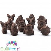 LCW Xmas sugar free chocolate figures - dark chocolate