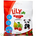 LiLY sugar free jellies with vitamins, Polish fruits flavors