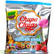 Chupa Chups Sugar Free Assorted Flavour Lollipops peg bag 10pcs