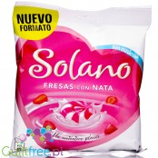 Solano sugar free hard candies strawberry & cream