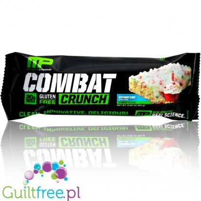 MusclePharm Combat Crunch Birthday Cake