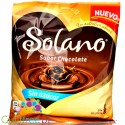Solano Chocolate sugar free coffee & milk caramels, display