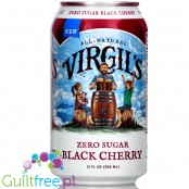Virgil's Zero Sugar Free - Black Cherry Soda 12oz (355ml)