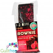 Light Sugar Raspberry & Chocolate Brownie protein bar sugar free with WPC, free from lactose