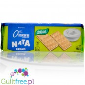 Santiveri no added sugar waffers with sweet cream filling