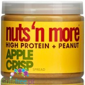 Nuts 'N More Apple Crisp Peanut Butter with Whey Protein and xylitol