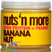 Nuts 'N More Banana Nut  Peanut Butter with Whey Protein and xylitol