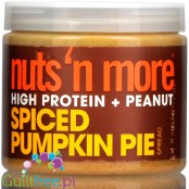 Nuts' n More Pumpkin Spice Peanut Butter with Whey Protein