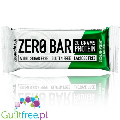 Biotech Zero Bar Chocolate - Hazelnut