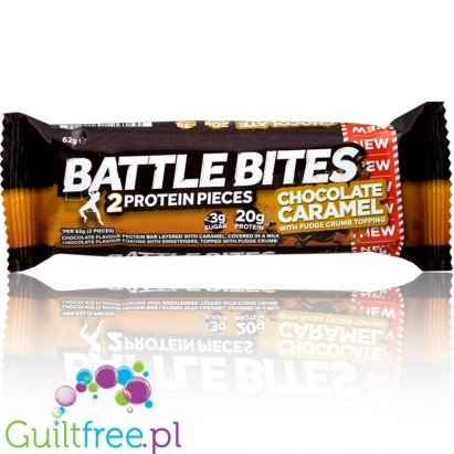 Battle Oats Battle Bites Chocolate & Caramel