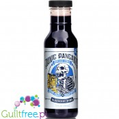 Sinister Labs Panic Pancake, Blueberry Bom sugra free Syrup