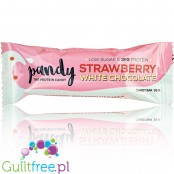Pandy Protein Candy Bar Strawberry & White Choc
