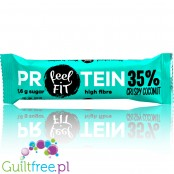 FeelFIT Protein Crispy Coconut protein bar
