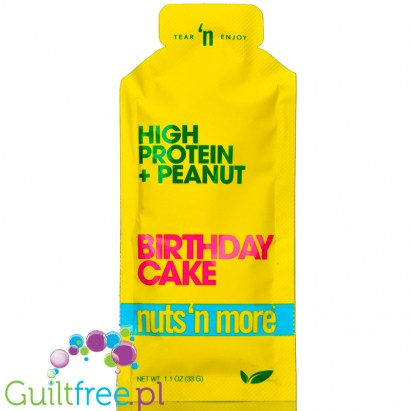 Nuts N More Birthday Cake Squeeze Pack