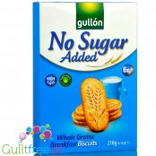 Gullón sugar free fiber morning biscuits 216g