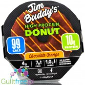 Jim Buddy's Protein Donut Chocolate & Orange DISCONTINUED