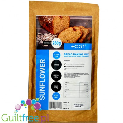 This1 Sunflower gluten free & low carb bread making mix