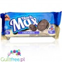 MAX Protein Black Max Cookies - no added sugar, high protein sandwich Oreo-like cookies