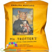 Mr Trotters mustard pork crackling 60g