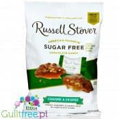 Russel Stover Caramel Crispies - sugar free candy chocolates with stevia