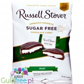 Russel Stover Mint Patties sugar free chocolates