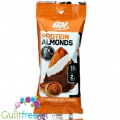 Optimum Nutrition Protein Almonds, Cinnamon Roll