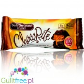 Healthsmart ChocoRite Dark Chocolate Crunch sugar free low carb bars