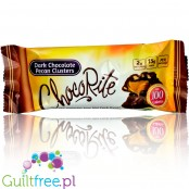 Healthsmart ChocoRite Dark Chocolate Pecan Clusters sugar free low carb bars