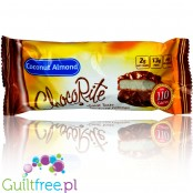 Healthsmart ChocoRite Coconut Almond sugar free low carb bars