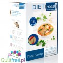 Dieti Meal high protein Thai soup 18g protein, 82kcal