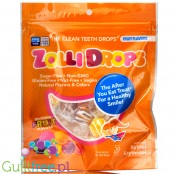 Zolli Pops Zolli Drops, sugar free hard candies, Fruit Variety Pack