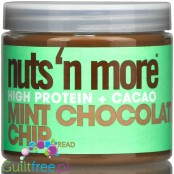 Nuts 'N More Mint Chocolate Chip Peanut Butter with Whey Protein and xylitol